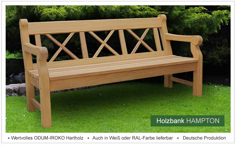 gartenbank holz wetterfest. Black Bedroom Furniture Sets. Home Design Ideas