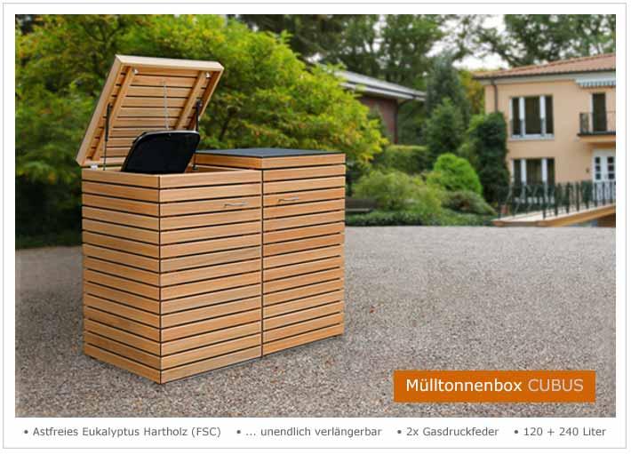 friesenbank shop m ltonnenbox cubus 120 240 liter. Black Bedroom Furniture Sets. Home Design Ideas