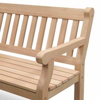Wunderschönen Gartenbank Holz 2 Sitzer | Gartenbänke Ideen