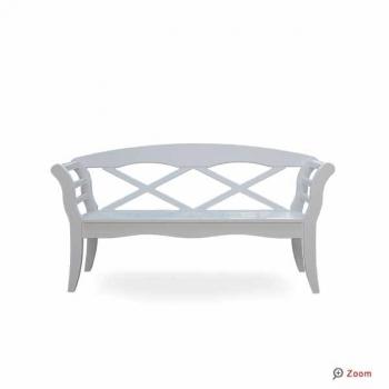 friesenbank shop 2 5er gartenbank sylt wei gr n ral. Black Bedroom Furniture Sets. Home Design Ideas