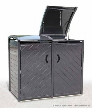 friesenbank shop exklusive m lltonnenbox sylt doppel 2 x 240 liter. Black Bedroom Furniture Sets. Home Design Ideas