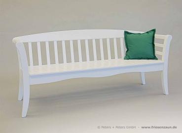 friesenbank shop 2er gartenbank list hartholz natur. Black Bedroom Furniture Sets. Home Design Ideas