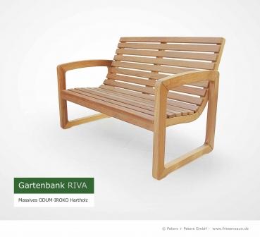 friesenbank shop gartenbank riva odum iroko hartholz. Black Bedroom Furniture Sets. Home Design Ideas