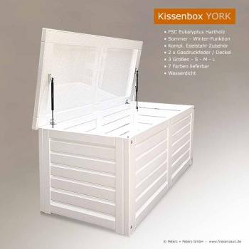 Extremely Friesenbank-Shop - Kissenbox Kissentruhe Gartentruhe wasserdicht  HA22