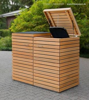 friesenbank shop m lltonnenbox astfreies hartholz ge lt. Black Bedroom Furniture Sets. Home Design Ideas