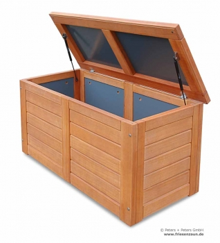 wetterfeste auflagenbox auflagenbox kissenbox holz kissentruhe garten auflagenbox with. Black Bedroom Furniture Sets. Home Design Ideas