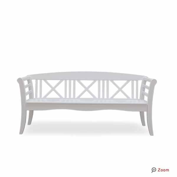 gartenbank wei sylt 112638 eine. Black Bedroom Furniture Sets. Home Design Ideas