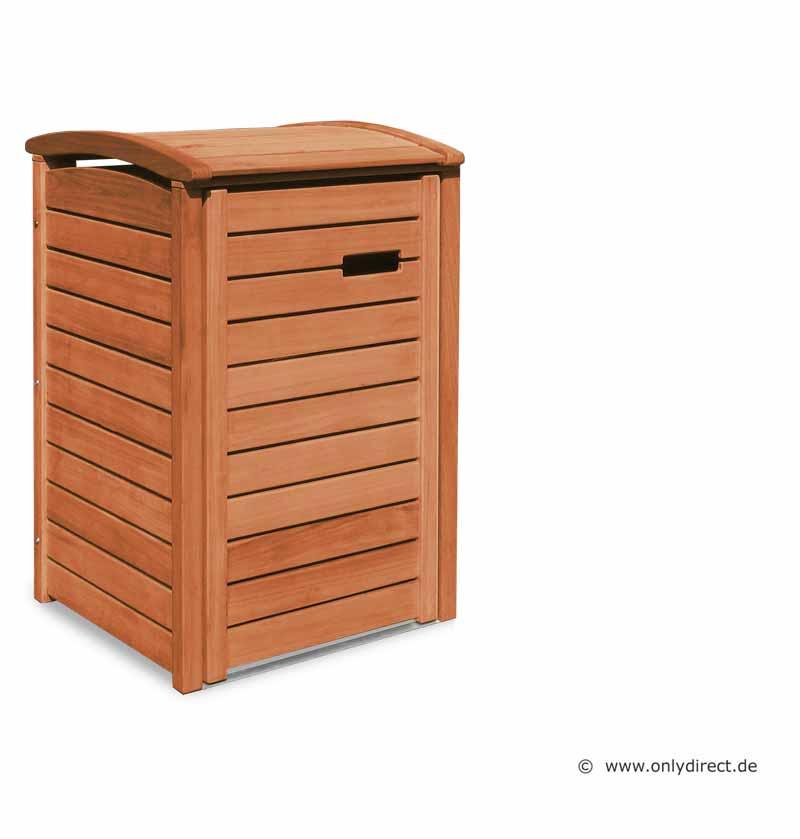 Friesenbank Shop Mulltonnenbox Holz Natur Geolt Fur 1 Abfalltonnen