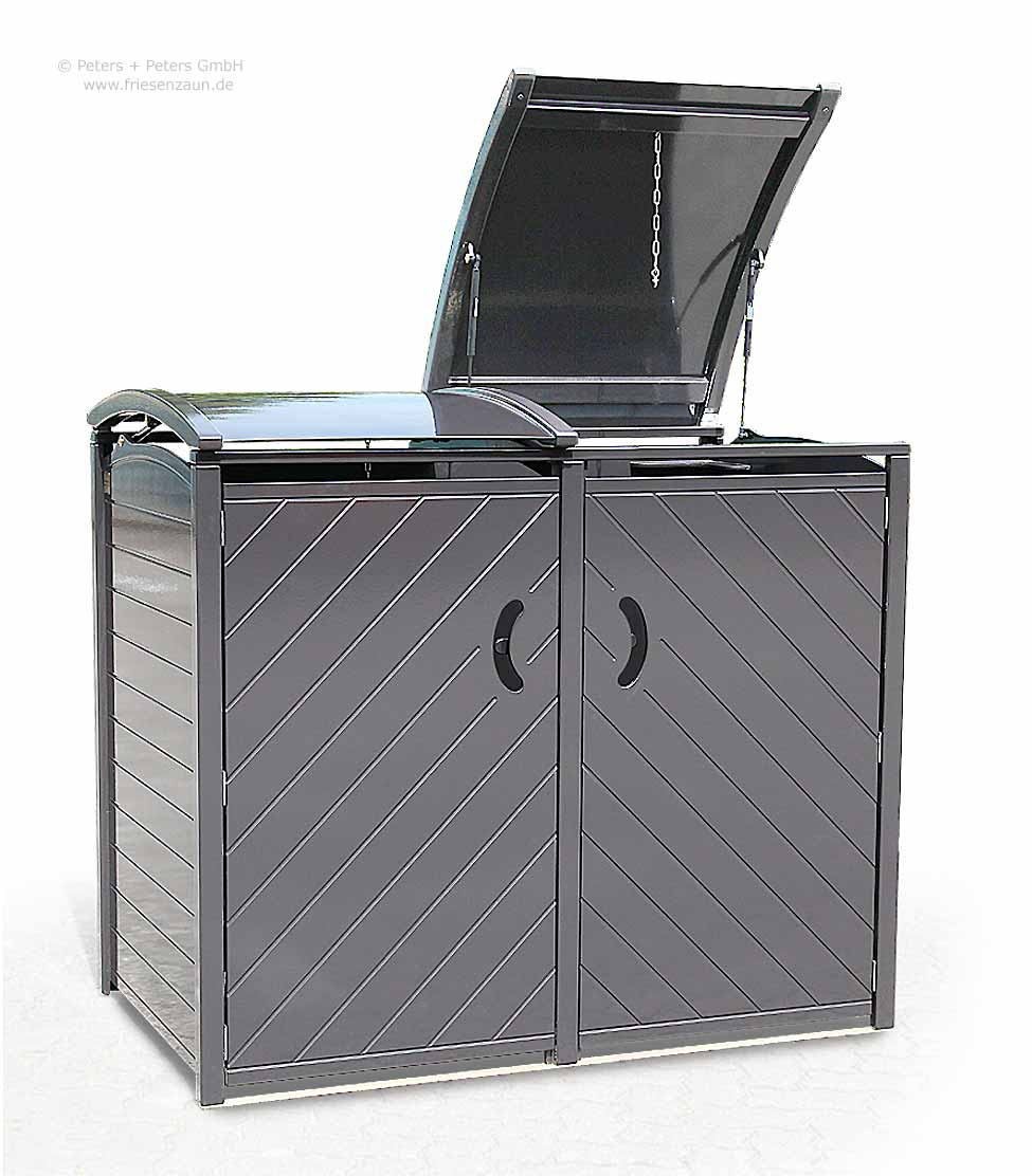 friesenbank shop exklusive m lltonnenbox sylt doppel 2 x 120 oder 240 liter. Black Bedroom Furniture Sets. Home Design Ideas