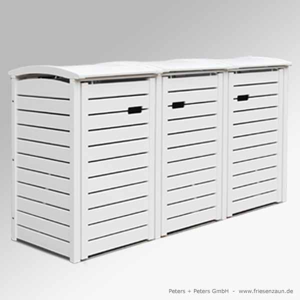 mulltonnenbox holz fur 3 tonnen. Black Bedroom Furniture Sets. Home Design Ideas