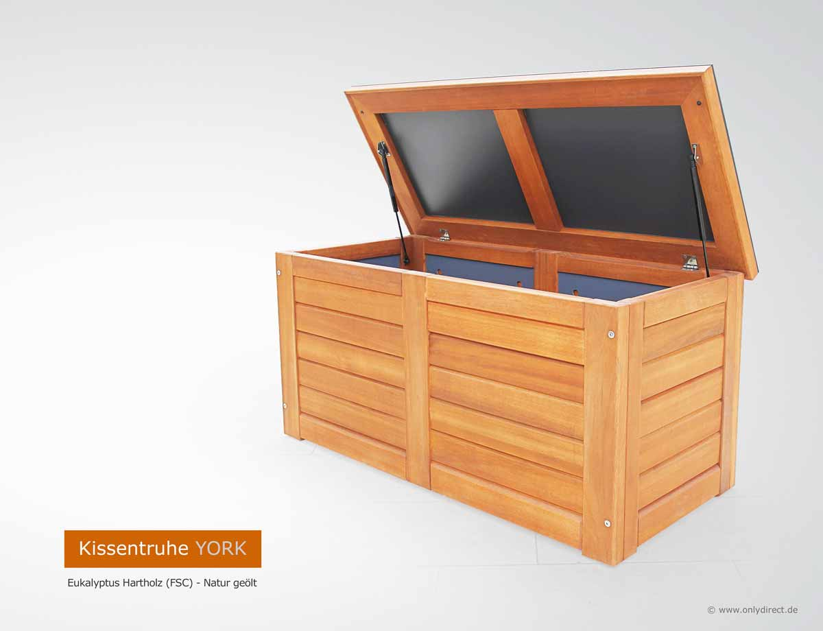 friesenbank shop kissenbox auflagenbox holz in tischlerqualit t kissentruhe gr e s f r. Black Bedroom Furniture Sets. Home Design Ideas