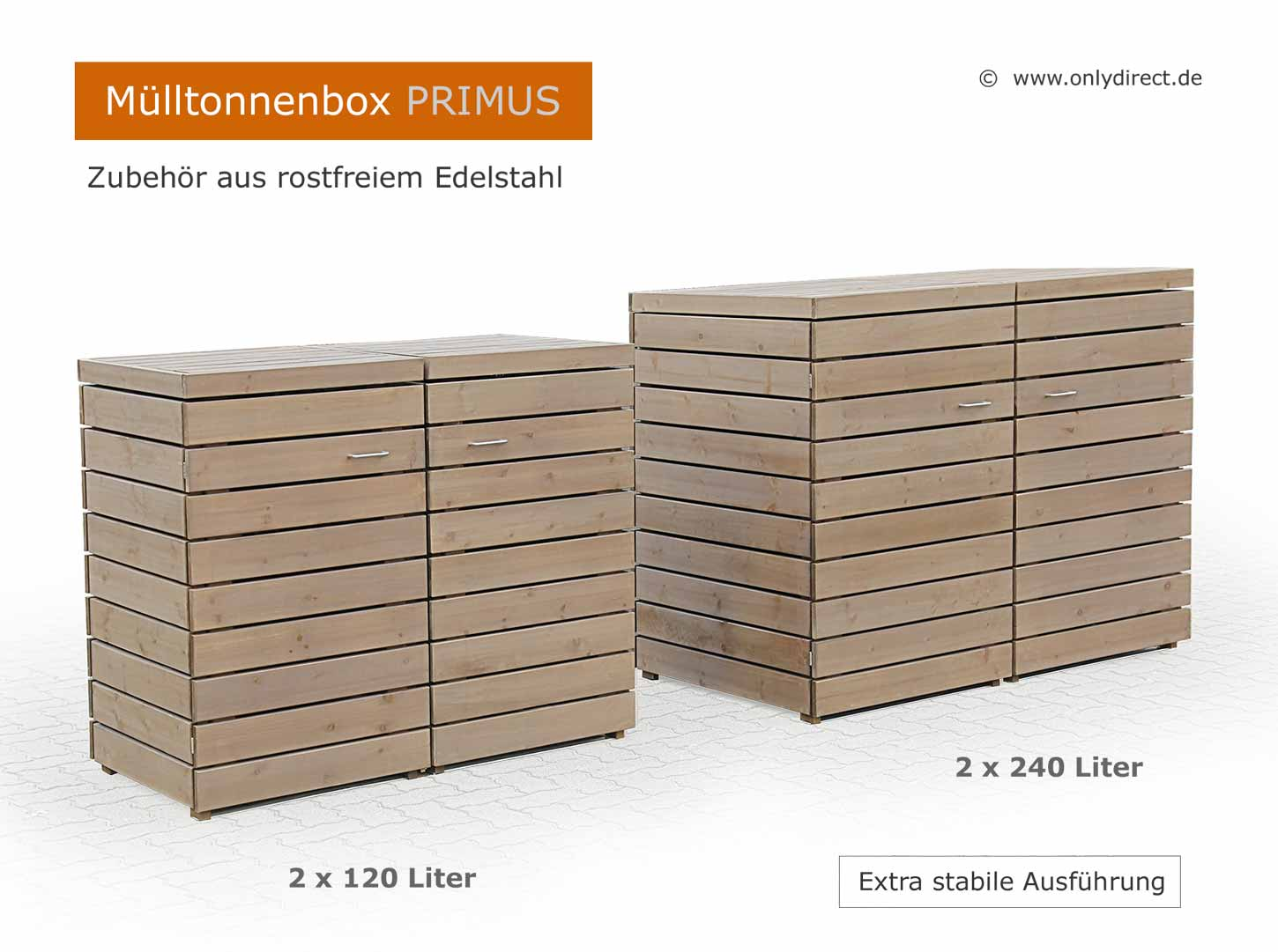friesenbank shop moderne m lltonnenbox holz fsc zeder f r 3 x 240 liter. Black Bedroom Furniture Sets. Home Design Ideas