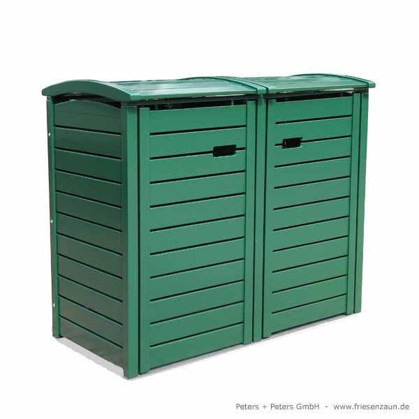 mulltonnenbox holz fur 2 tonnen. Black Bedroom Furniture Sets. Home Design Ideas