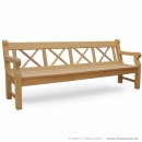 Holzbank HAMPTON 4-Sitzer - Made in Germany